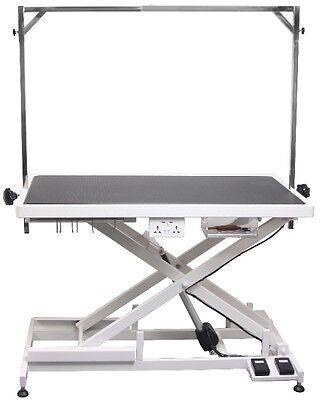 Aeolus Electric Dog Grooming Table Low Height Dog Grooming Table