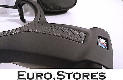 BMW 3 Series F30 F31 F34 M Performance Steering Wheel Cover With Carbon Fiber