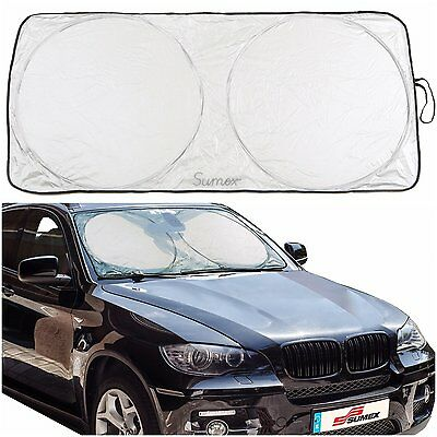 Sumex Front Windscreen Foldable Reflective Sunshade Block for Mini One & Cooper