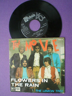 THE MOVE Flowers In The Rain SPAIN 45 1967 Roy Wood ELO E.L.O. UK PSYCH Wizzard