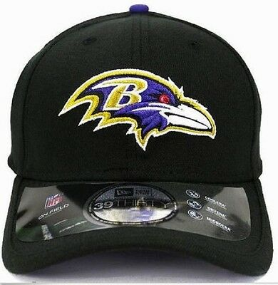 New Men Baltimore Ravens NFL On Field New Era 39Thirty Hat Cap L/XL 0173037