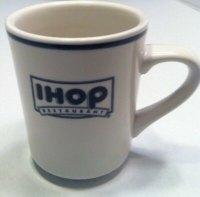 Vintage IHOP Restaurant Coffee Mug Cup Pancakes Delco Retro Diner House of