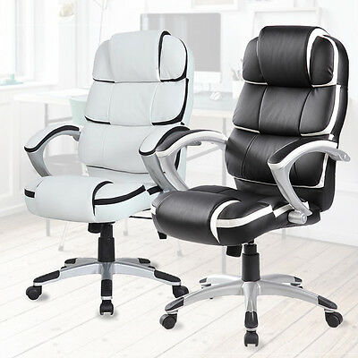 Luxury Office Executive Chair Computer Desk Swivel Chair Racing Chair High Back