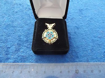 The Congressional Space Medal of Honor Original SELTEN  PIN im Etui