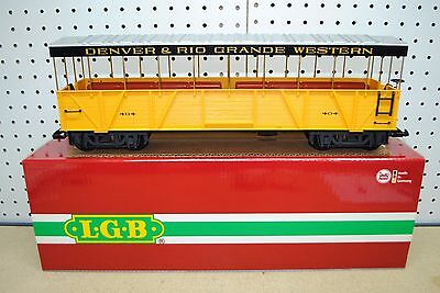 LGB 30260 D&RGW Denver & Rio Grande Observation Car *G-Scale* NEW