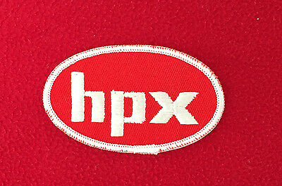 Vintage - HPX Service Station - Embroidered Cloth PATCH