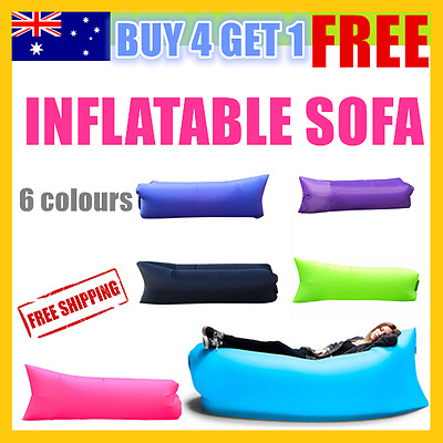 Fast Inflatable Air Bag Sofa Lounge Lazy Chair bag Camping Bed Beach Hangout