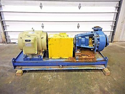"RX-3636, METSO MM150 LHC-D 6"" x 4"" SLURRY PUMP W/ 60HP MOTOR AND FRAME"
