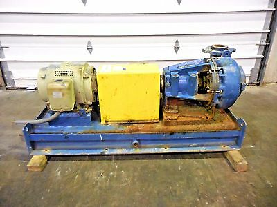 "RX-3638, METSO MM150 LHC-D 6"" x 4"" SLURRY PUMP W/ 15HP MOTOR AND FRAME"