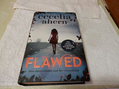 Flawed by Cecelia Ahern Hardcover Book