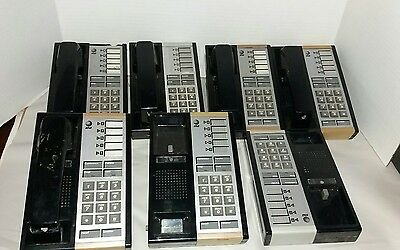 AT&T Avaya Lucent Merlin Phone Lot  2- 410 Units  2- Sp-34 + 7- 5-Button Phones