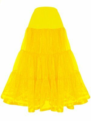 Shimaly Women's Floor Length Wedding Petticoat Long Underskirt for Formal Dress