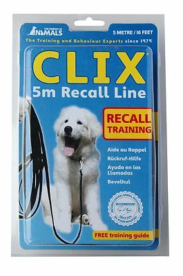 Clix Long Line 5m - Recall Training Lead for Dogs & Puppies
