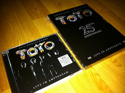 TOTO - Live In Amsterdam CD + DVD Special Edition - Live 2003
