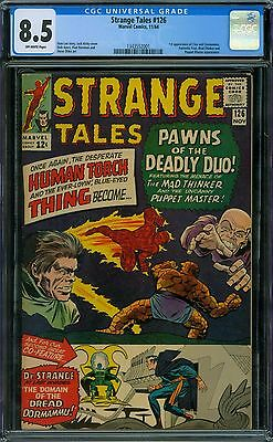 Strange Tales 126 CGC 8.5 - OW Pages
