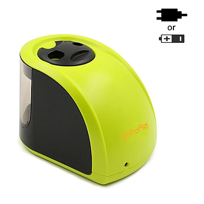 Electric Pencil Sharpener - 2 Holes Design - Electronic and Battery Operated
