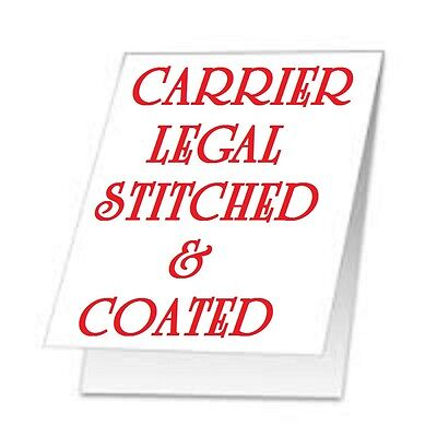 TWO Carrier Sleeve's For Laminating Pouches LEGAL SIZE STITCHED COATED