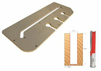 Freud F03FB13430 700mm Kitchen Worktop Router Jig – Includes 50mm x 1/2″ Router