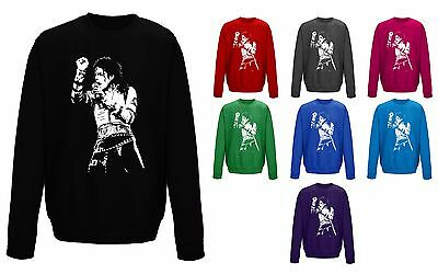 Kids Childrens Michael Jackson King Of Pop Iconic Sweater Sweatshirt Jumper