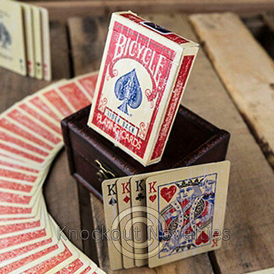 Bicycle Faded Deck - Red Magician Trick Magic Tricks Cards Perform Disappear