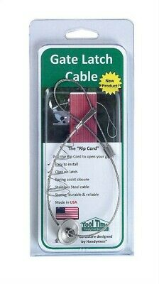 Tool Time GLC001 Gate Latch Cable