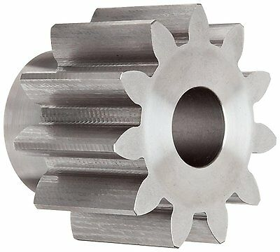 Boston Gear NL11B Spur Gear, 14.5 Pressure Angle, Steel, Inch, 4 Pitch, 1.125""