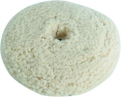 7-1/2 In Wool Buffing Pad