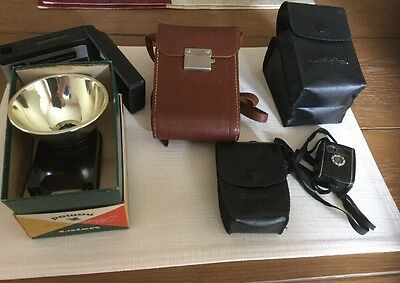 Lot of Vintage Camera/Photography Accessories