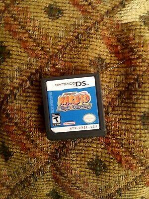 Naruto: Ninja Destiny (Nintendo DS, 2008) - GAME ONLY