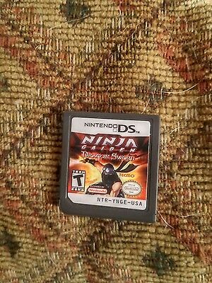 Ninja Gaiden: Dragon Sword (Nintendo DS, 2008) - GAME ONLY