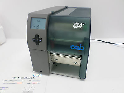 CAB A4+ / 600 600dpi V3.29 5954502 Ethernet Thermal Label Printer