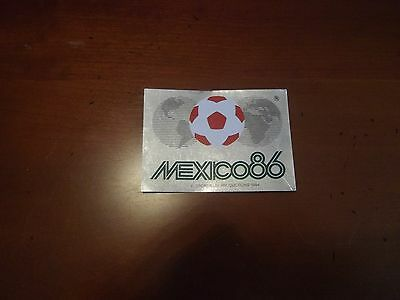Panini Foot World Cup Mexico 86 N°2