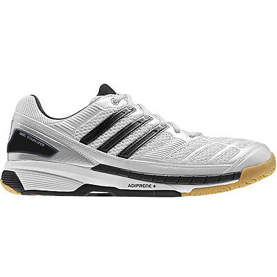 Adidas Feather Indoor Court Shoes Squash / Badminton Shoes - White US 6 / AU 5.5