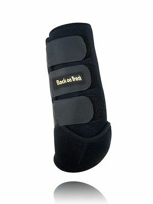 BACK ON TRACK Equine Horse Exercise Boots Heat Therapy Front Pair Medium