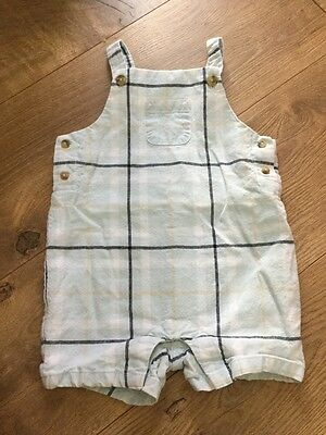 Janie And Jack Boys One Piece Overall 6-12 Months Summer