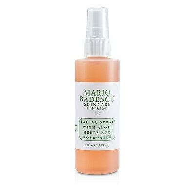 NEW Mario Badescu Facial Spray with Aloe, Herbs & Rosewater - For All Skin 118ml