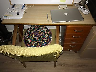 Retro Writting Desk - Hand Made In 1960's