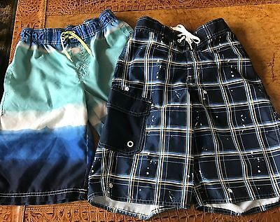 LOT of Two Bathing Suits - Boys Size L (10-12)