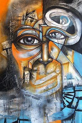 Abstract Surrealism ART Print Urban Pop Poster Wall 24x36 MODERN Gloss Gallery