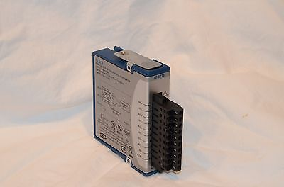 NATIONAL INSTRUMENTS NI 9215 4 AI ±10 V 16 Bit 100 kS/s/ch Simultaneous Analog