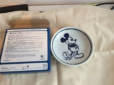 Uniqlo Small Dish Mickey Disney Limited From Japan