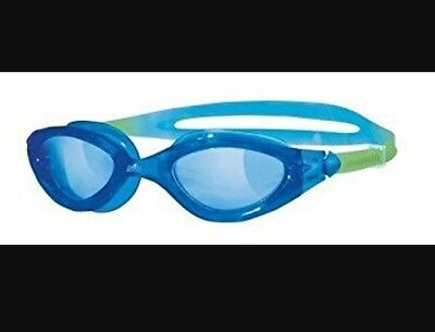 Zoggs Panorama Junior Swimming Goggles - Age 6-14 Years - Blue