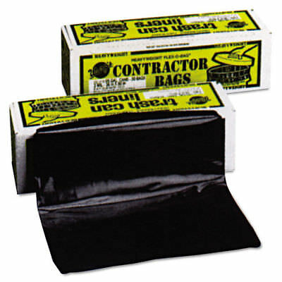 Warp Bros 55 Gallon Heavyweight Contractor Bags (Black) (30-Pack)  HB5530 New