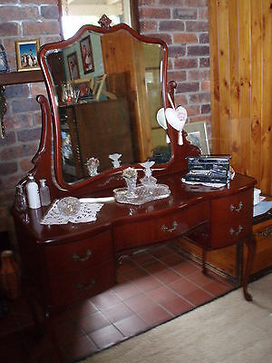 Dressing Table Australian Made Vintage - Antique French Style