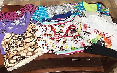 HUGE lot of juniors Summer clothes size S And XS Tops Shirts