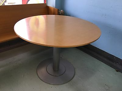 Round Cafe Tables X 3 And 1 Base Only