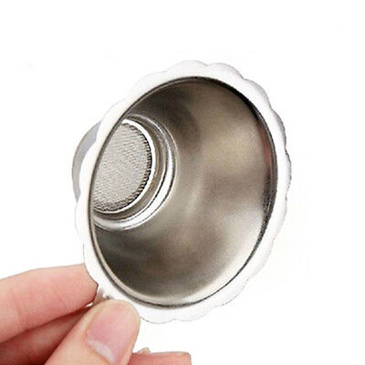 Silver Stainless Steel Mesh Tea Infuser Cup Strainer Loose Tea Leaf Filter Sieve