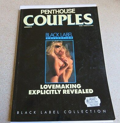 1989 Penthouse Couples Black Label Collection - Issue No 5