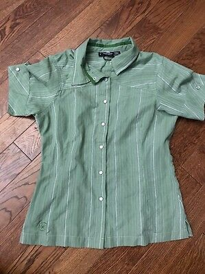 Outdoor Research/ OR Pearl Snap Hiking Shirt - Women's Small Petite