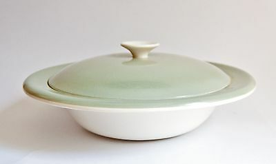 Poole Cameo Twintone Celadon - Serving Tureen, Vegetable Tureen
